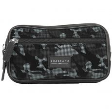 BANANE ARMY CAMOUFLAGE NOIR/GRIS EN TOILE - CHABRAND
