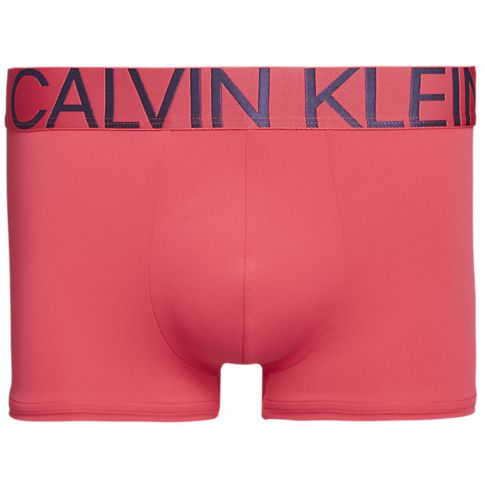 BOXER TRUNK STATEMENT 1981 MICROFIBRE ROSE NB1702A  - CALVIN KLEIN