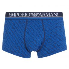BOXER ALL OVER LOGO BLEU 9A508  - ARMANI