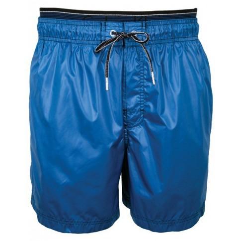 CK Swimwear - SHORT DE BAIN BLEU 58034W2-428