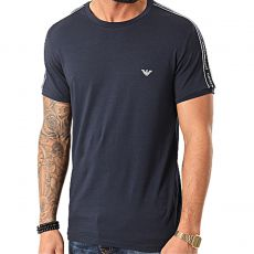 T-SHIRT COL ROND CORE LOGOBAND NAVY - EMPORIO ARMANI