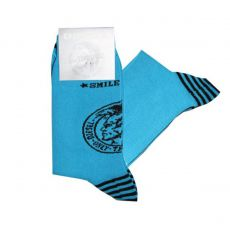 DIESEL - CHAUSSETTES TURQUOISE  CALZINO  THE SEASONAL
