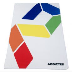 SERVIETTE DE PLACE RAINBOW BLANCHE AD717 - ADDICTED