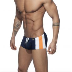 BOXER DE BAIN STRIPES BASIC MARINE ADS212 - ADDICTED