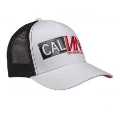 CASQUETTE RACING TRUCKER BLANCHE K505612 - CALVIN KLEIN