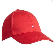 CASQUETTE CLASSIC BASEBALL ROUGE  - TOMMY HILFIGER