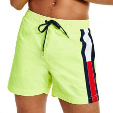 SHORT DE BAIN SF MEDIUM DRAWSTRING JAUNE FLUO M01697 - TOMMY HILFIGER