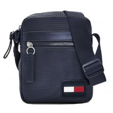 BESACE REPORTER TEXTURE MARINE M05805 - TOMMY HILFIGER
