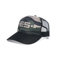 CASQUETTE BASEBALL CAMOUFLAGE KAKI - ES COLLECTION