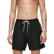 SHORT DE BAIN MEDIUM DRAWSTRING NOIR M00434  - CALVIN KLEIN