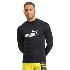 T-SHIRT MANCHES LONGUES DE BAIN SWIM MEN LONG NOIR 100000035 - PUMA