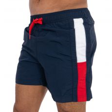 SHORT DE BAIN SF MEDIUM DRAWSTRING MARINE M01697 - TOMMY HILFIGER