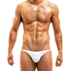 MINI SLIP DE BAIN LOW CUT BODYBUILDING BLANC - MODUS VIVENDI