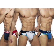 PACK DE 3 JOCK SECOND SKIN AD899 - ADDICTED