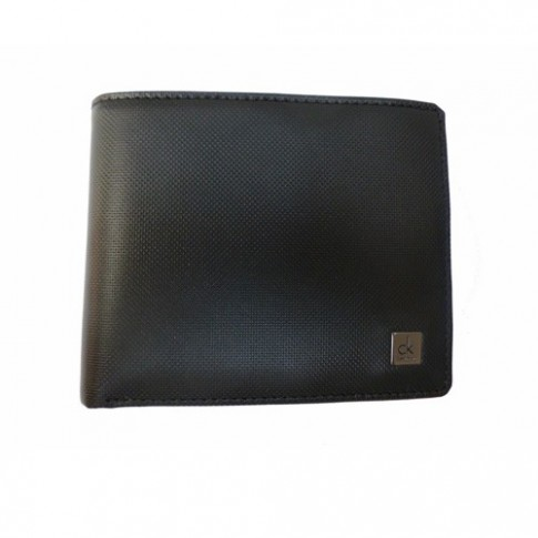 Portefeuille Calvin Klein Cuir noir horizontal