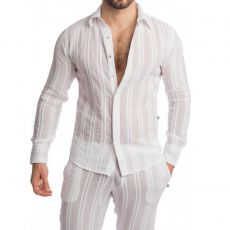 CHEMISE BENARES BLANCHE - L'HOMME INVISIBLE