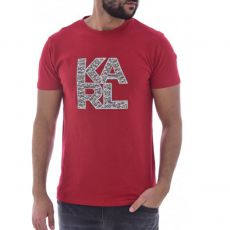 T-SHIRT LIBRARY ROUGE - KARL LAGERFELD