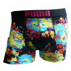 PUMA BOXER HOMME PIXELATED FLOWER CAVIAR