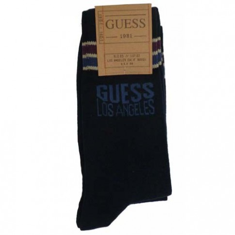 GUESS CHAUSSETTES UB6I6LSPG18 - LOT DE 3 - MARINE