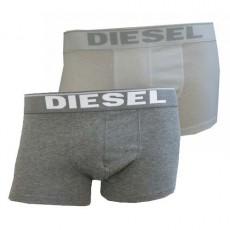DIESEL BOXER ESSENTIAL PACK DE 2 GRIS / BLANC 00CGDH