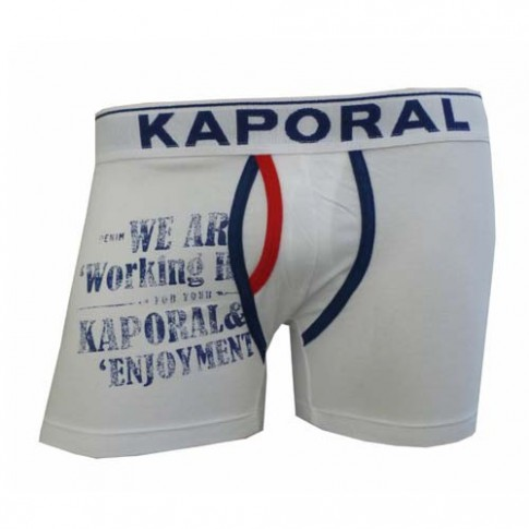 Boxer shorty KAPORAL WORKERS BLANC