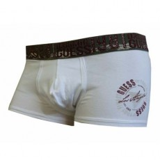 GUESS – Boxer Shorty Homme Blanc UH6U19