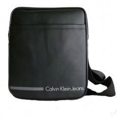 CKJ – BESACE  VINYLE NOIRE  BODY BAG – CDS010-PBO0010-995