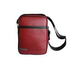 CKJ – BESACE  VINYLE BORDEAUX  BODY BAG – CDS015-PBO0010-568