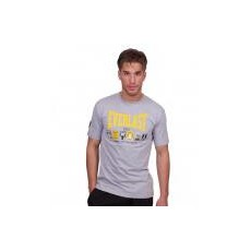 EVERLAST - TEE SHIRT STAMPES GRIS