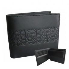 Portefeuille Elegance Calvin Klein Cuir noir horizontal