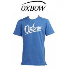 OXBOW - T SHIRT MARKERSS BLEU