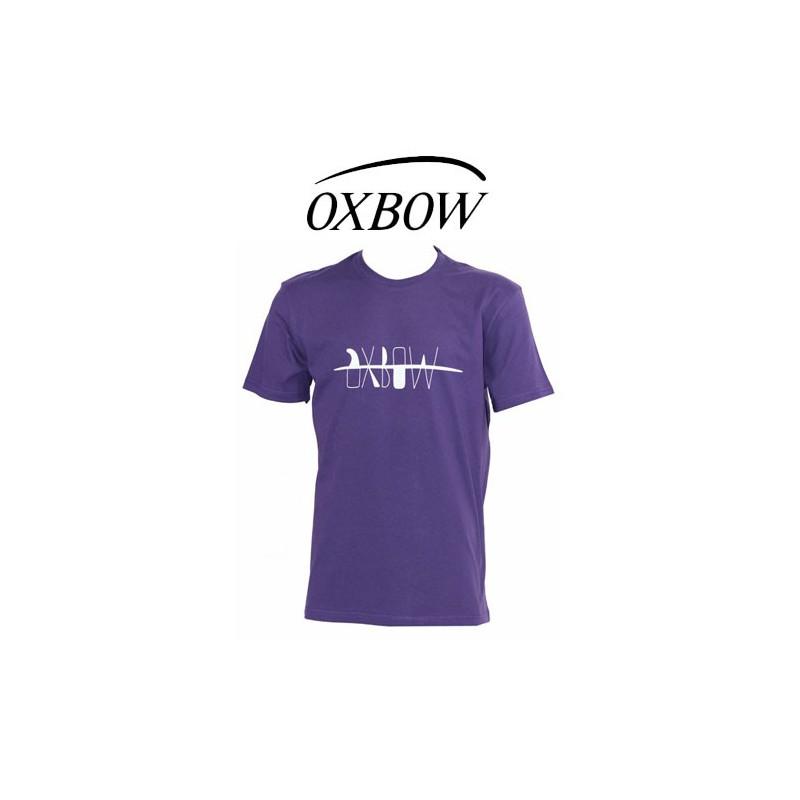 oxbow t shirt typ surf violet. Black Bedroom Furniture Sets. Home Design Ideas