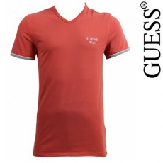 GUESS - T-SHIRT ORANGE BRET UG7U2A
