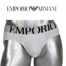 EMPORIO ARMANI SLIP EAGLE BLANC