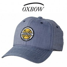 OXBOW - CASQUETTE ARIS CORPORATE FLEXFIT BLEU JEANS