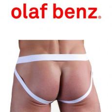 OLAF BENZ - JOCKSTRAP RED1203 HIPJOCK BLANC