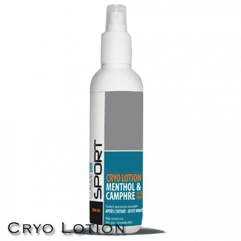 CRYO LOTION MENTHOL & CAMPHRE EFFET FROID CLAUDE BELL
