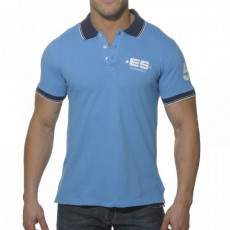 ES POLO SLIM FIT BLEU SURF POLO01-C209