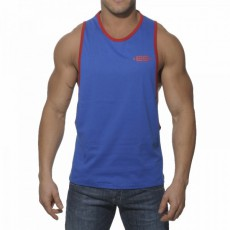 ES TS050  DEBARDEUR LOW RIDER TANK TOP ROYAL