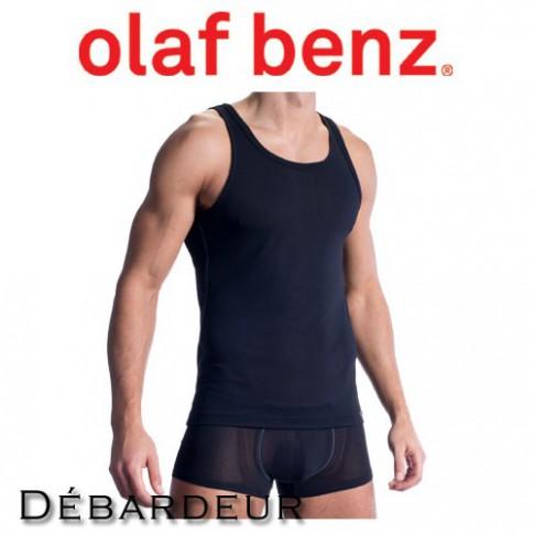OLAF BENZ - DEBARDEUR RED1313 SPORTSHIRT NOIR