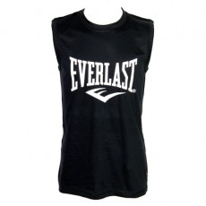 EVERLAST – TEE SHIRT LABAN SANS MANCHES NOIR
