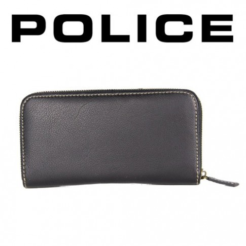 POLICE - PORTEFEUILLE DONNA GRAND FORMAT NOIR