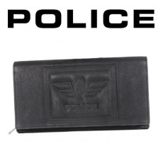 POLICE - PORTEFEUILLE DONNA SOFT GRAND FORMAT NOIR