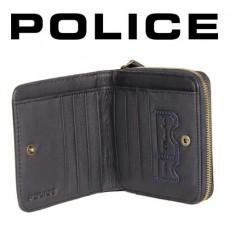 POLICE - PORTEFEUILLE UNIQUE DONNA FORMAT CARRE NOIR