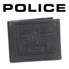 POLICE - PORTEFEUILLE FOGLIO 2 VOLETS CUIR NOIR