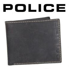 POLICE - PORTEFEUILLE BOLD UOMO EFFET VIEILLI CUIR NOIR