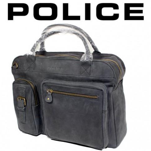 POLICE – GRANDE BESACE LIGNE BOLD BRIEFCASE NOIRE PB0898-01