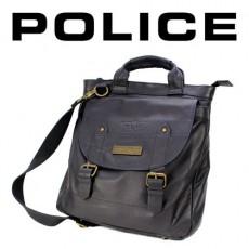 POLICE – GRANDE BESACE LIGNE UNIQUE SHOPPER VERTICALE NOIRE PB0297-01
