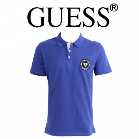 GUESS - POLO MARINE LOGO ROND