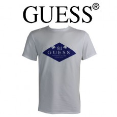 GUESS - T-SHIRT BLANC ORIGINAL